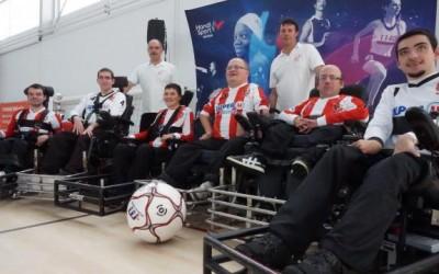 Football fauteuil. Cinq équipes se disputent la coupe de Bretagne
