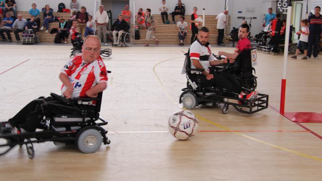 Handisport à Rennes. Les meilleurs régionaux en foot fauteuil