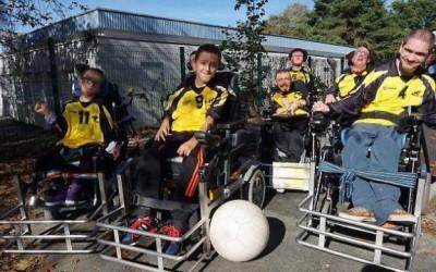 Le football fauteuil, un sport exigeant