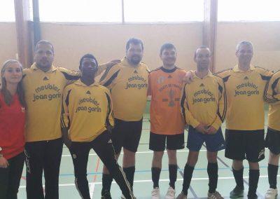 Handisport Rennes club - foot en salle